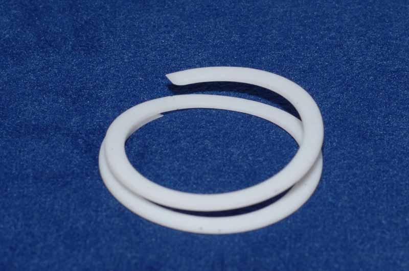 Backup ring p teflon spiral lower electrode pack of