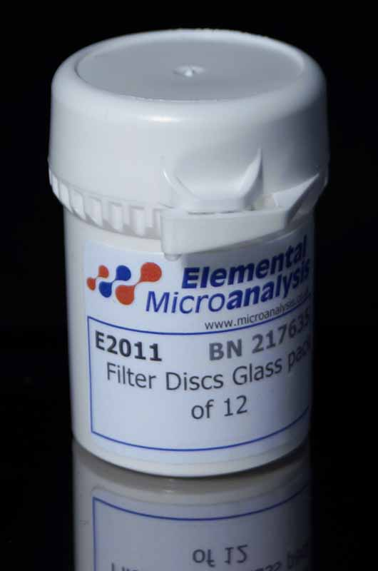 Filter Discs Glass pack of 12
