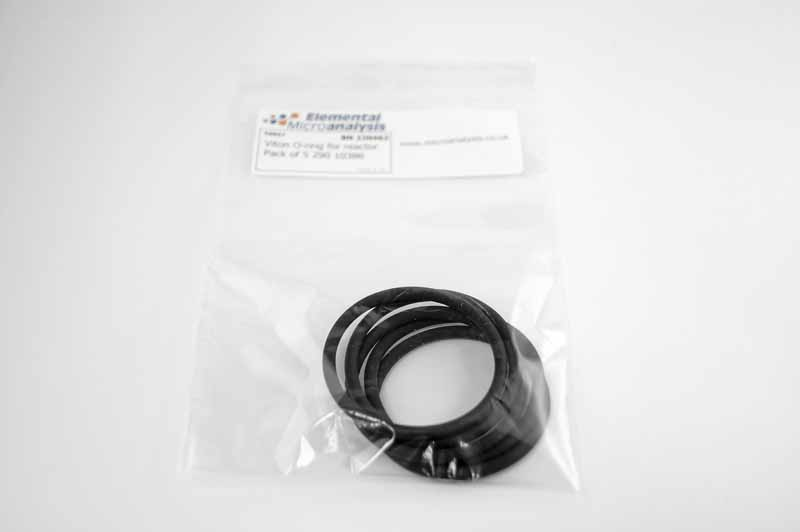 Viton O-ring for reactor Pack of 5 290 10386