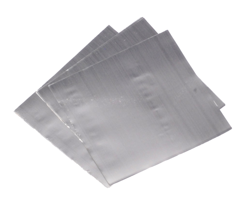 Tin Foil Squares Standard Weight 50 x 50mm pack of 100