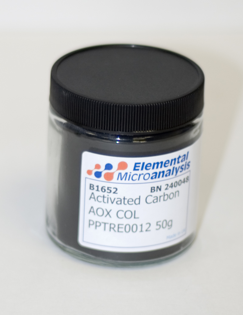 Activated Carbon AOX COL PPTRE0012 50g