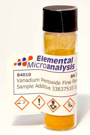 Vanadium Pentoxide Fine Powder Sample Additive 33837510 1g