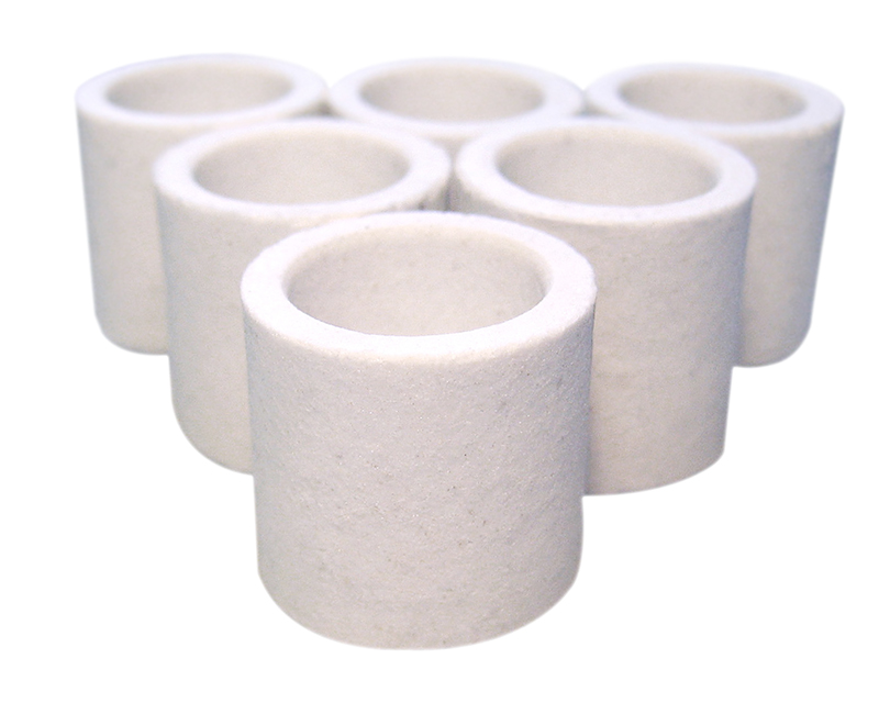 Ceramic Crucible pack of 1000