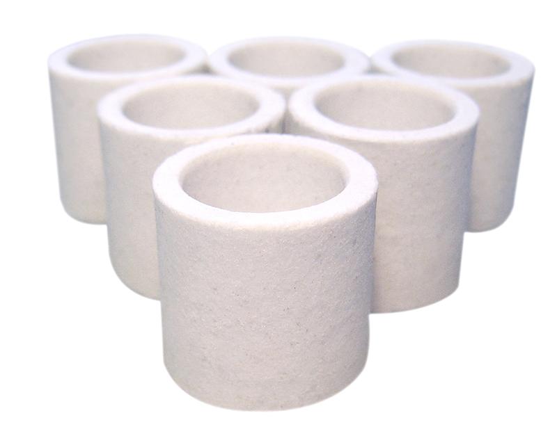 Ceramic Crucible  528-018 pack of 1000