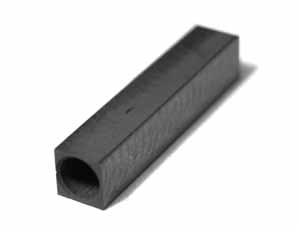 Extra Large Graphite Crucible for 9mm id Glassy carbon tubes 5.9mm wide