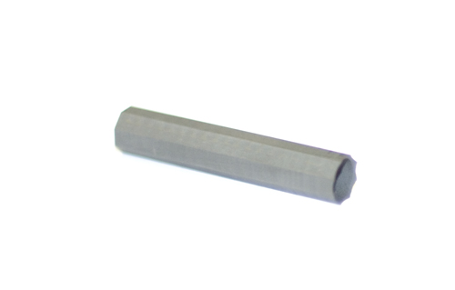 Octagonal graphite crucible for TC/EA  for use in 9mm ID glassy carbon tubes