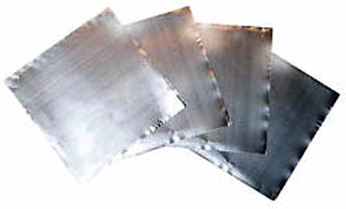 Tin Foil Squares Standard Weight 37 x 37mm pack of 100