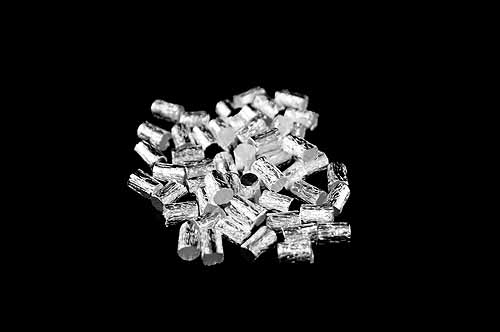 Silver Capsules Pressed 9 x 5mm Light weight pack of 100