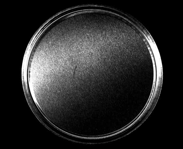 Economy Aluminium Moisture Determination Pans 100mm diameter x 7mm high Pack of 80