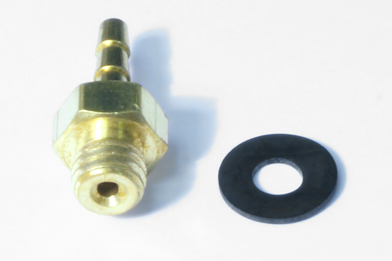 Tube Fitting Brass 10/32 to 1/16 ID tube 773-661