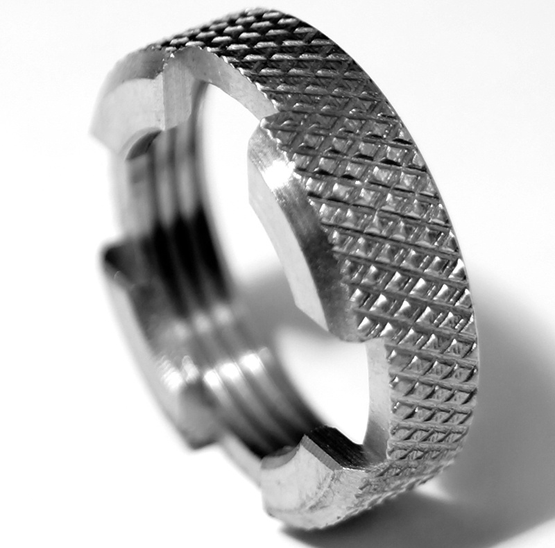 Knurled ring collar 774-690