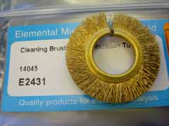 Cleaning Brush for Combustion Tube  14045