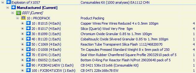 Consumables Kit (1000 analyses) EA1112 CHN