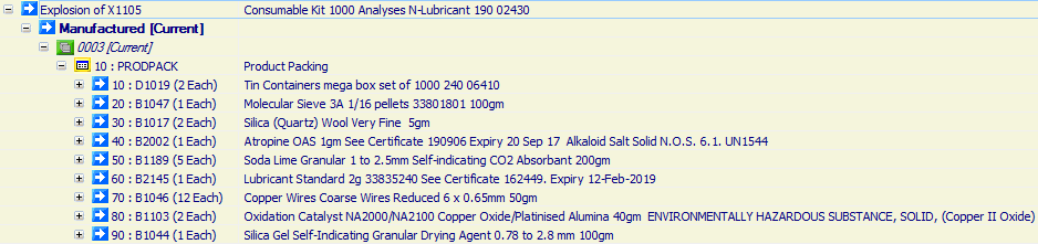Consumable Kit 1000 Analyses N-Lubricant 190 02430